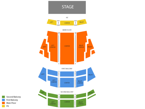 Northern Alberta Jubilee Auditorium Seating Chart