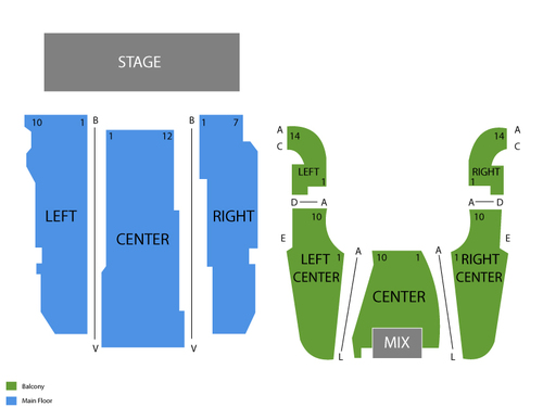 Paula Poundstone Venue Map