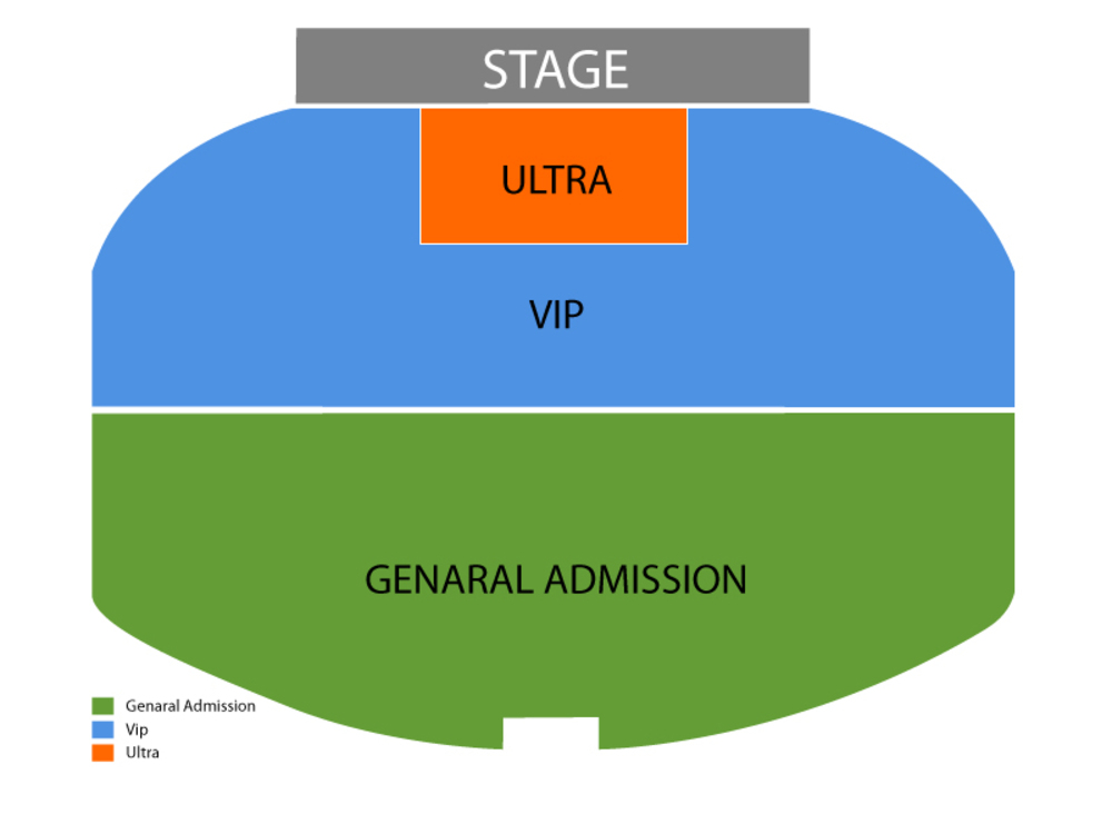 Anthony Cools Venue Map