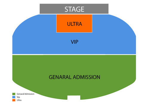 Anthony Cools Showroom at Paris Las Vegas Seating Chart