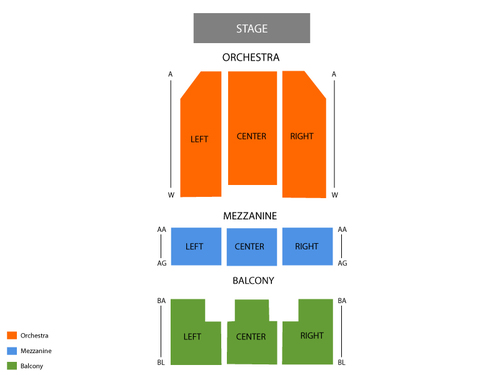Orpheum Theatre - Wichita Seating Chart