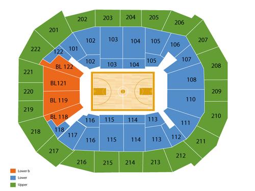 Chaifetz Arena Seating Chart