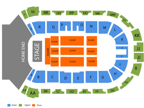 Enmax Centre Seating Chart
