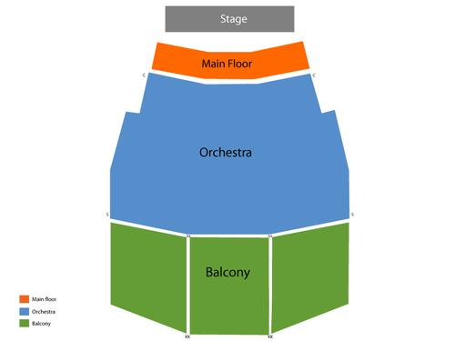 Walton Arts Center - Baum Walker Hall Seating Chart