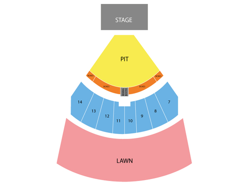 Cricket Wireless Amphitheater Seating Chart