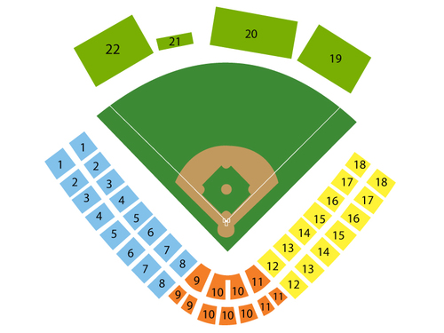 ASA Hall of Fame Stadium Seating Chart