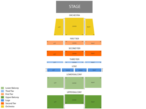 Wellmont theatre seating chart events in montclair nj