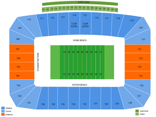 FIU Stadium Seating Chart
