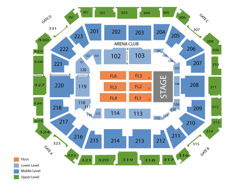 USF Sun Dome Seating Chart