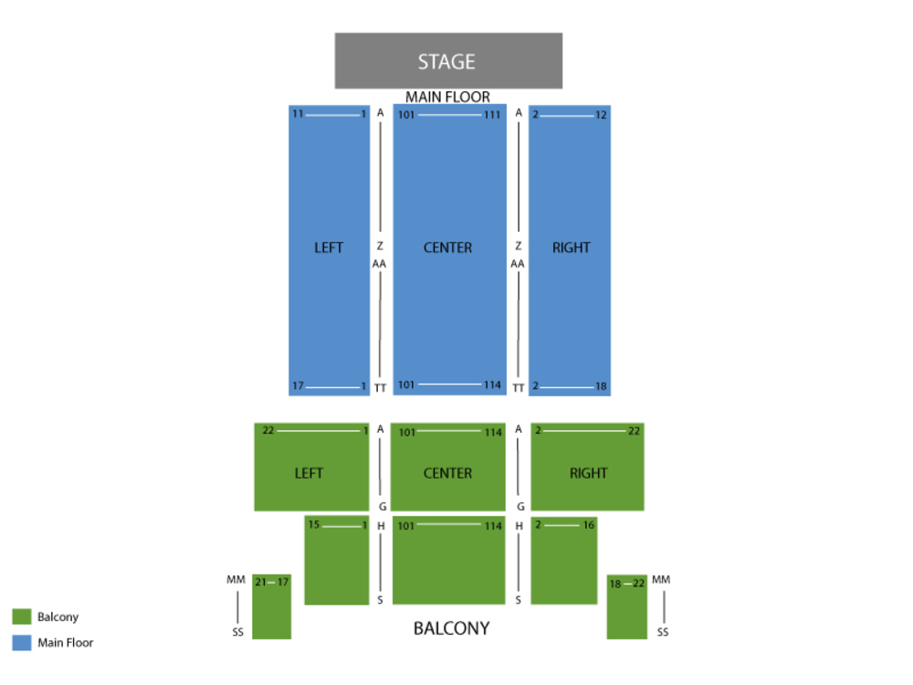 Todd Rundgren Venue Map