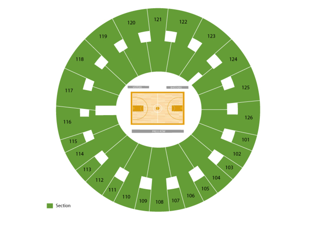 Charles Koch Arena Seating Chart And Tickets