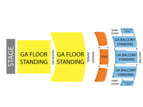 Fox Theater Pomona Seating Chart