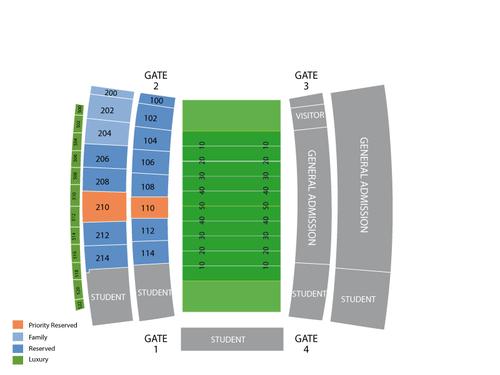 InfoCision Stadium Seating Chart