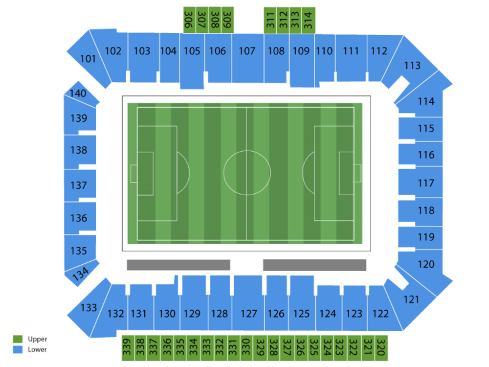 DC United at Philadelphia Union Venue Map