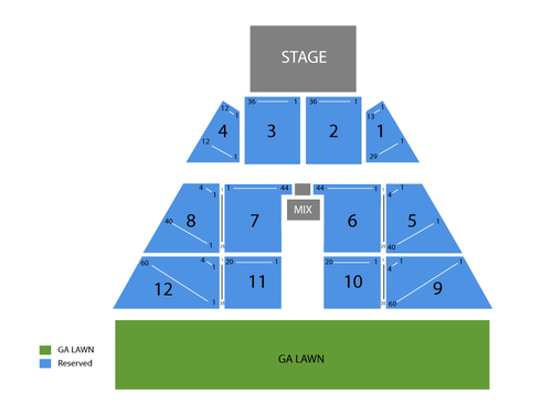 Larry The Cable Guy and Bill Engvall Venue Map