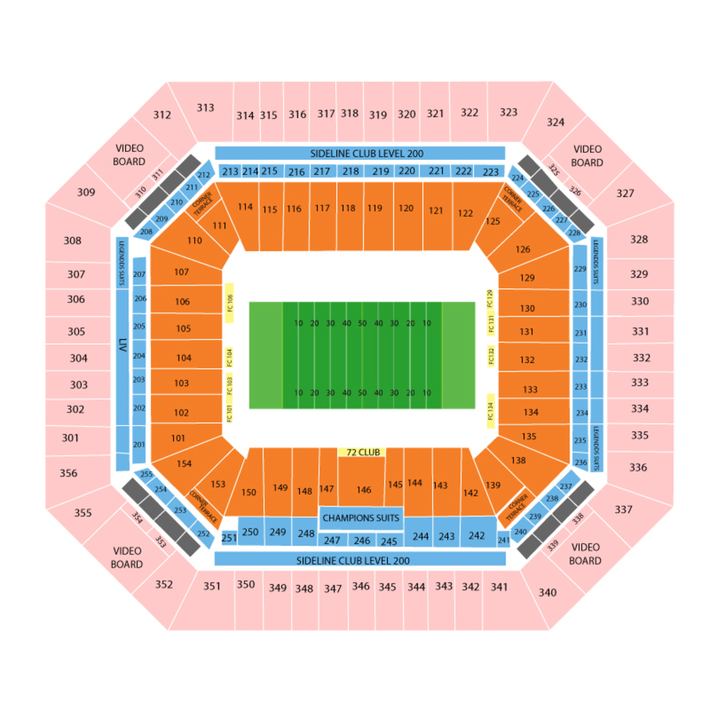 hard rock stadium seating chart and tickets | (formerly