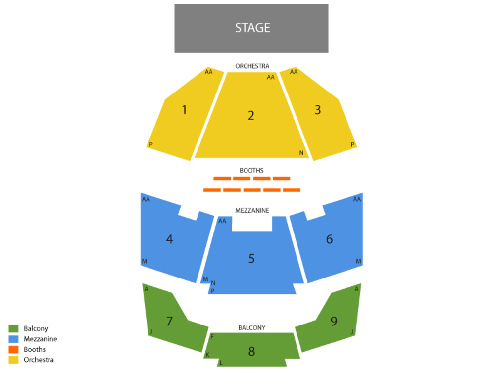 Penn And Teller Theater Seating Map Brokeasshome Com