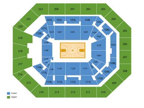 Matthew knight arena seating chart events in eugene or