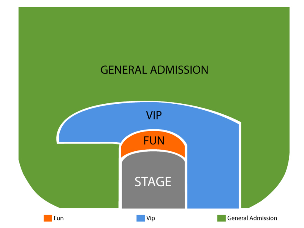 Tape Face Venue Map