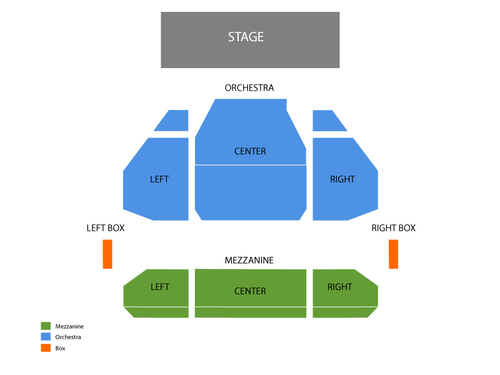 Stephen Sondheim Theatre Seating Chart