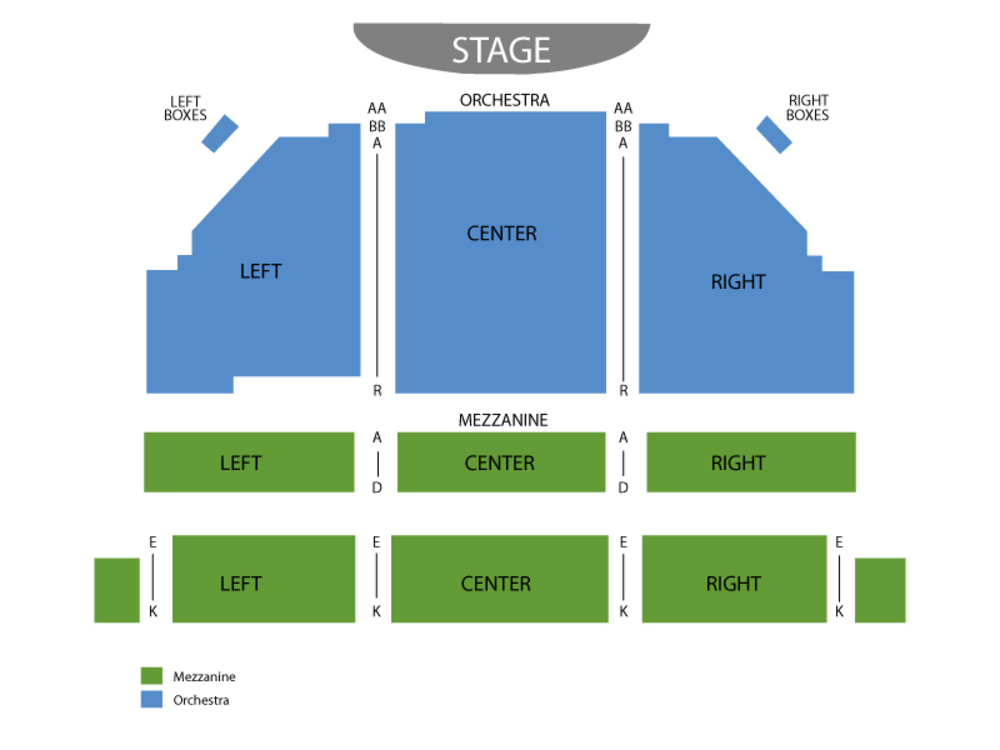 Seating Chart Bernard B. Jacobs Theatre
