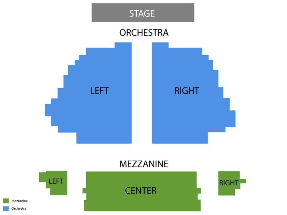 Seating Chart Samuel J. Friedman Theatre