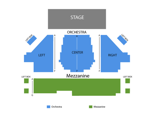 American Airlines Theatre Seating Chart