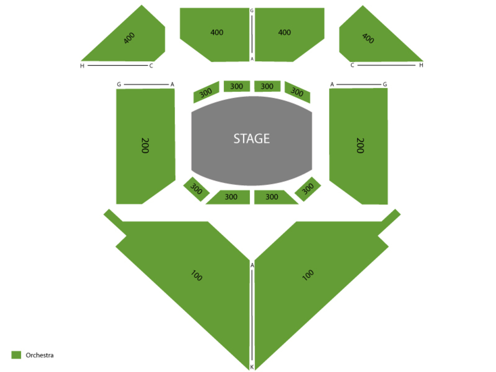 Seating Chart Circle in the Square