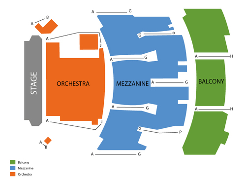 Palace Theatre - NY Seating Chart