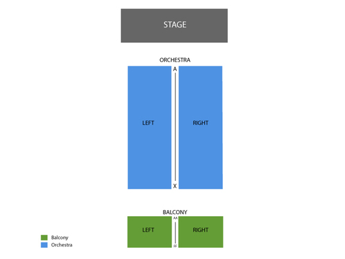 Orpheum Theatre - NY Seating Chart