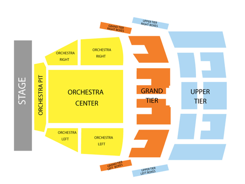 John Edward Venue Map