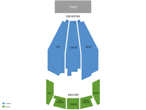 Bob Carr Performing Arts Center Seating Chart