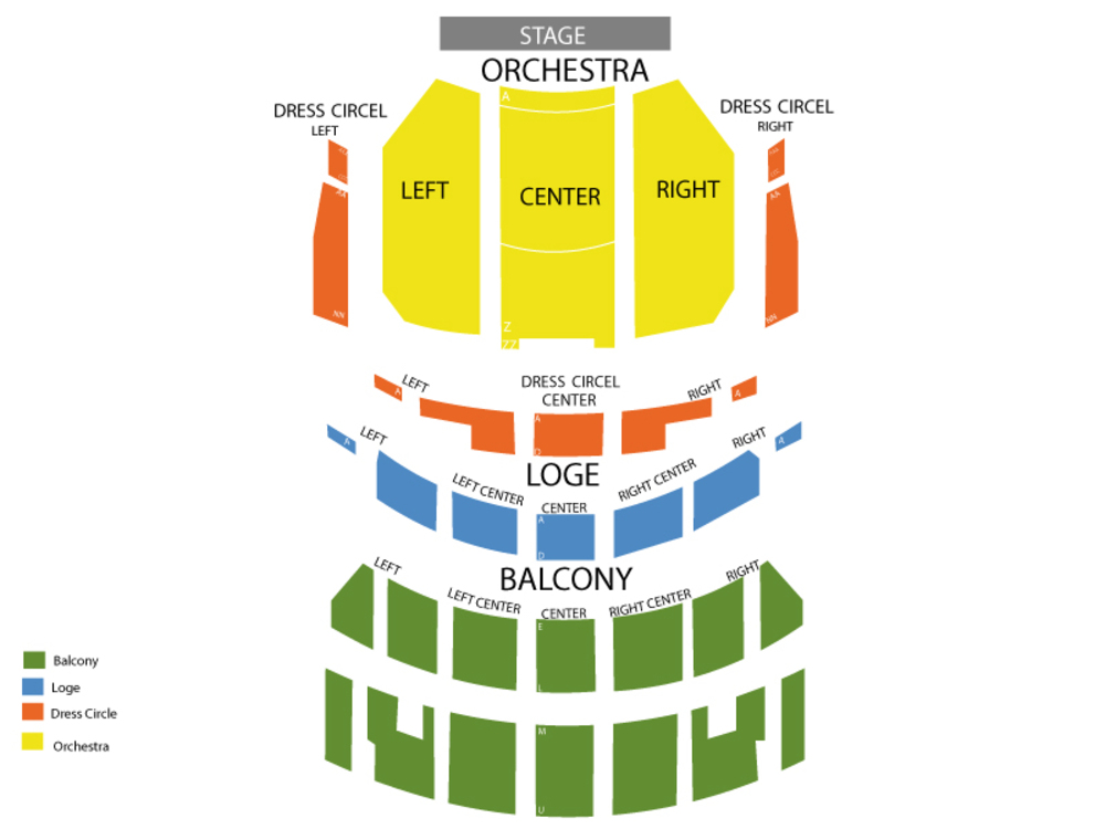 Once Upon A One More Time Venue Map