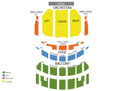 Once - The Musical Venue Map
