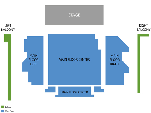 Briar Street Theatre Seating Chart