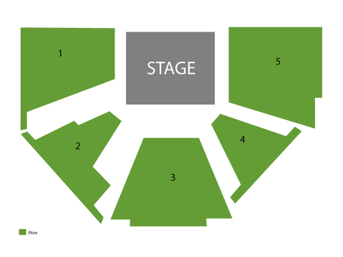 Frog Prince Continued Venue Map