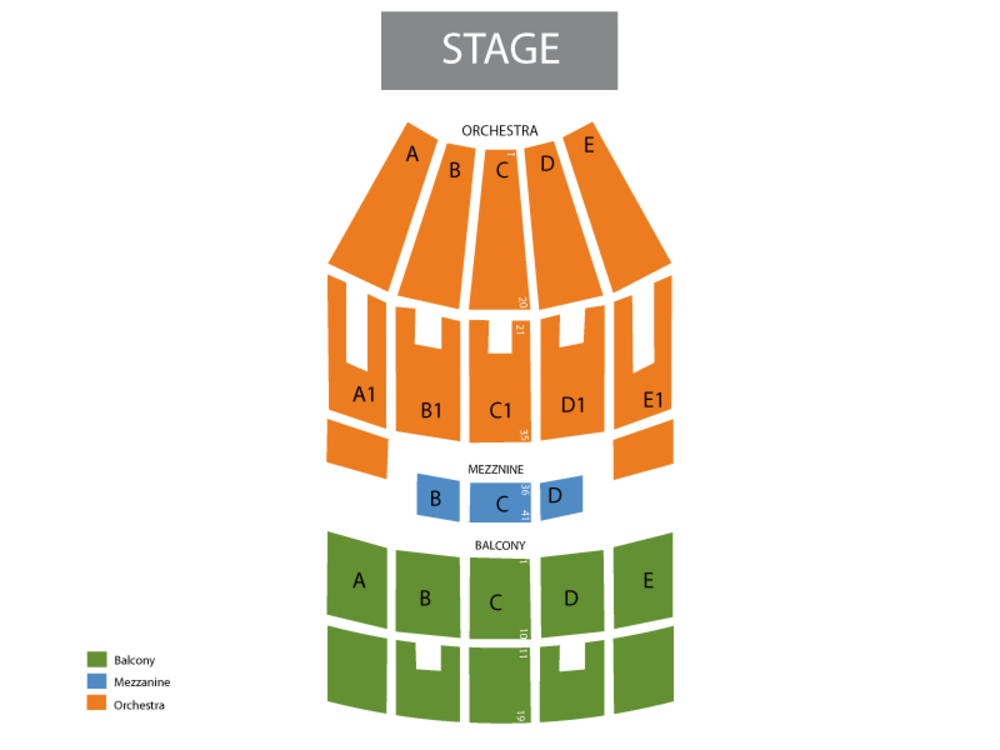 Straight No Chaser Venue Map
