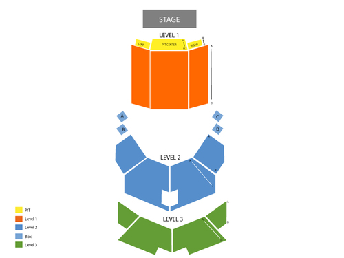 Lexington Opera House Seating Chart