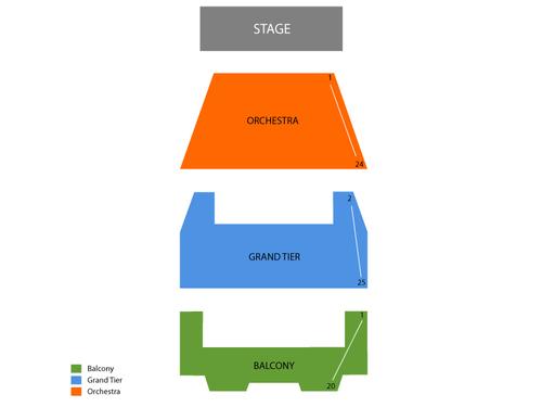 Miller Auditorium Seating Chart
