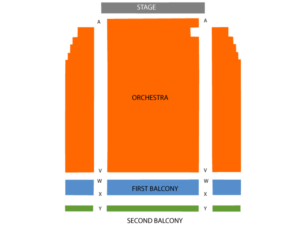 West Side Story Venue Map