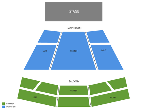 Daniel Tosh Venue Map
