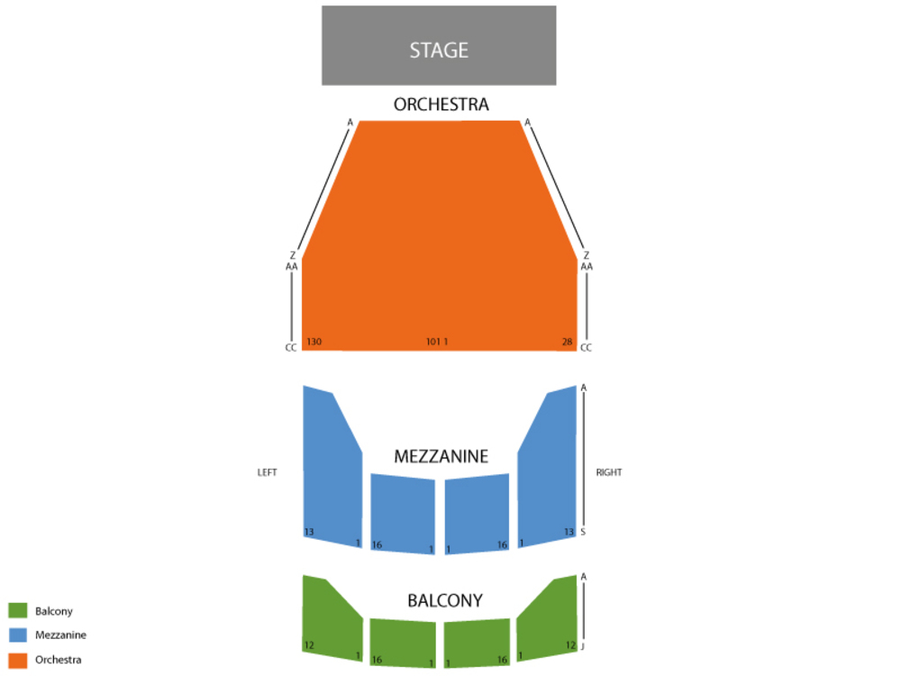 Something Rotten Venue Map