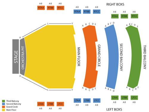 TCU Place Seating Chart