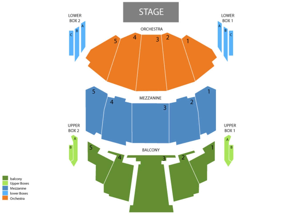 The Wizard of Oz Venue Map