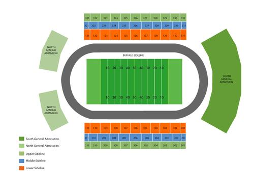 University Buffalo Stadium Seating Chart