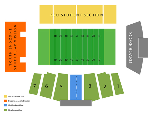 Dix Stadium Seating Chart