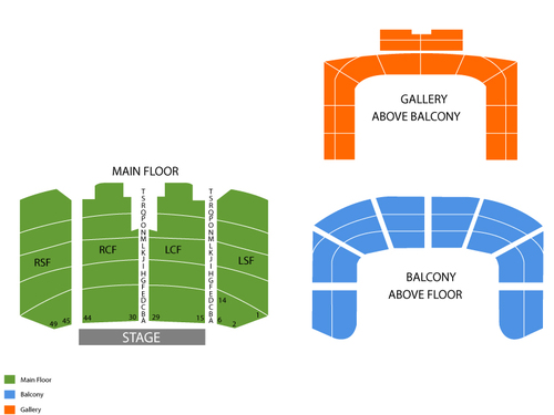 Michael Kaeshammer Venue Map
