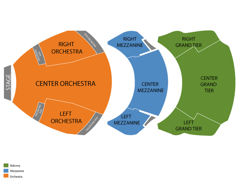 Cobb Energy Performing Arts Centre Seating Chart