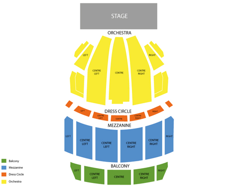 Opera House (Boston) Seating Chart