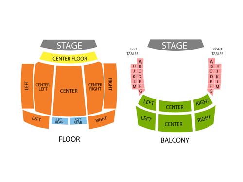 Kathleen Madigan Venue Map
